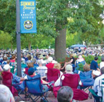 The annual Merchants Square Summer Breeze Concert Series returns for the 21st year, featuring special bands and great music. This year the annual Independence Day concert, featuring the U.S. Air Force Heritage of  America Band, will take place on July 1. The free outdoor events take place Wednesdays from July 11 to Aug. 29.