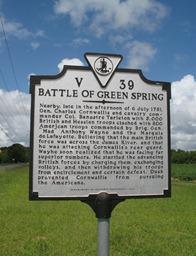 battle of greenspring