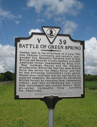 battle of greenspring