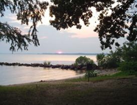 Jamestown beach campground