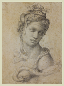 Cleopatra by Michelangelo