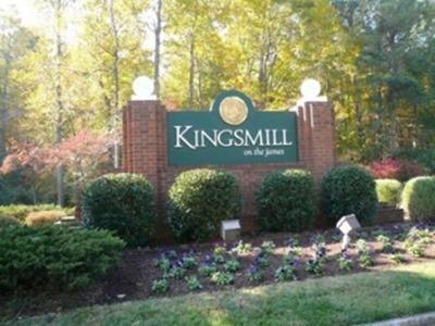 Kingsmill Entrance Sign