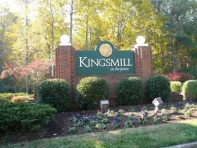 Kingsmill Entrance Sign