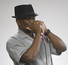 "Also performing will be Bobby ""BlackHat"" Walters, a well-known area blues harmonica player, vocalist, and songwriter, accompanied by Herbie D and Chris Grooves of Herbie D and the Dangermen."