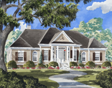 "Inspired by the pages of Southern Living magazine, the award winning team at Wayne Harbin, Builders is building ""Harrison Place,"" a 3,500 square foot, fully furnished and decorated show home"