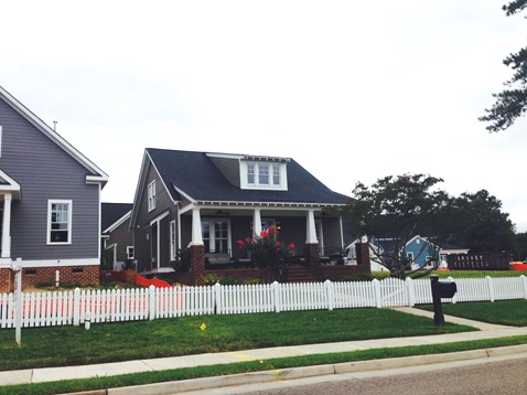 A brand new home community in the City of Williamsburg.Capitol Landing Green is composed of 16 single family home sites including a community green framed by the renovation of two turn-of-the-century homes that were on the site prior to development.