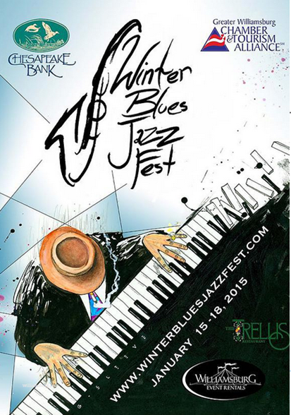 Chef David Everett and Steve Rose came together to line up an incredible four-day festival from Thursday January 15th to Sunday January 18th 2015 The Winter Blues Jazz Fest will celebrate great food and drinks, great people, and most importantly great music!