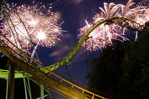 Busch Gardens Williamsburg® celebrates America with a bang during a patriotic summer spectacular, Star Spangled Nights, every Friday, Saturday and  Sunday, July 3 through Sept. 6, 2015.