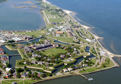 Governor Terry McAuliffe today signed a deed that transfers land at Fort Monroe from the Commonwealth of Virginia to the National Park Service, solidifying Virginia's commitment to turning the fort into a national monument for the enjoyment of tourists and history-buffs from all over the Commonwealth and country